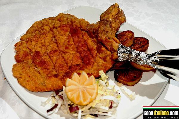 Milanese style cutlet – schnitzel - Ricetta