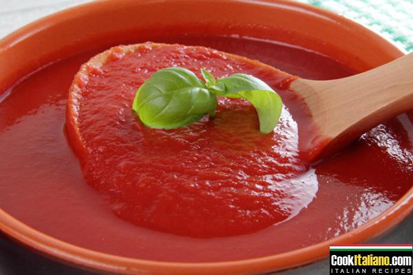 Tomato sauce - Ricetta