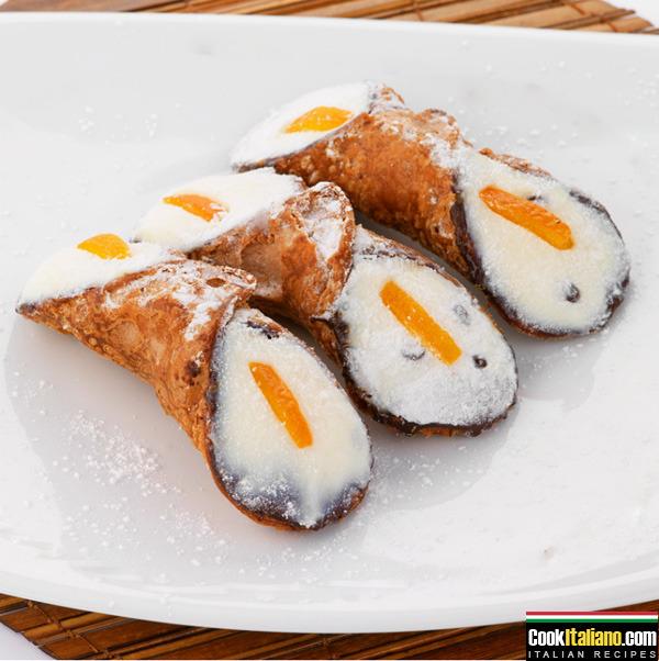 Sicilian Cannoli Italian Recipe On Cookitaliano Com