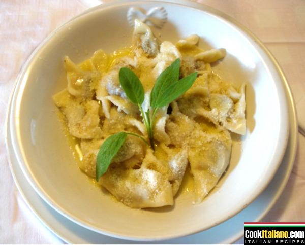 Crema style tortelli - Ricetta
