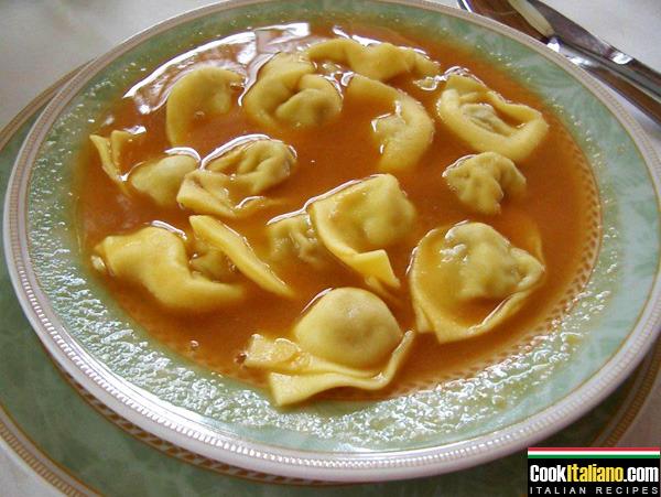 Tortellini bolognese - Ricetta